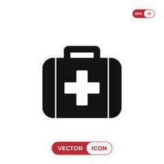 Medical kit icon vector illustration