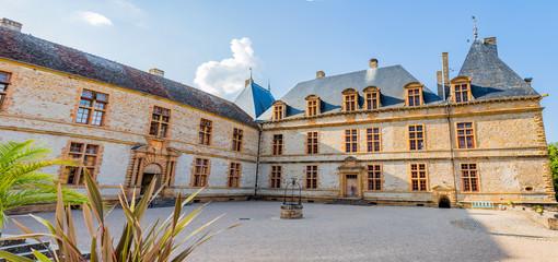 Panorama du Château de Cormatin en Bourgogne