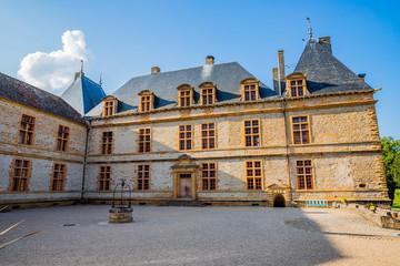 Château de Cormatin en Bourgogne