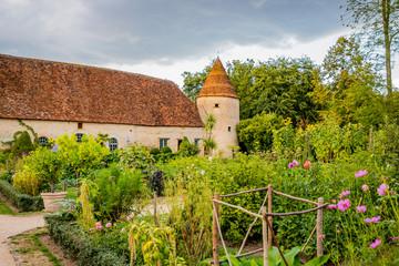 Potager du Château de Cormatin en Bourgogne