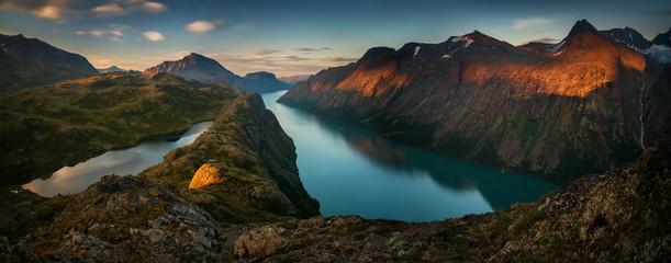 Gjende Lake Panorama