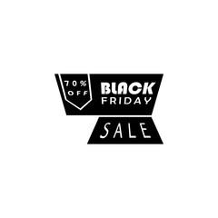 Black Friday poster stiker