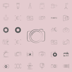 logo camera icon. Photo icons universal set for web and mobile
