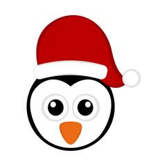 Christmas cute penguin avatar