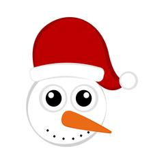 Christmas cute snowman avatar