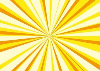 放射状の光の背景