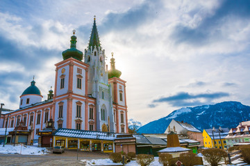 Snow at the church