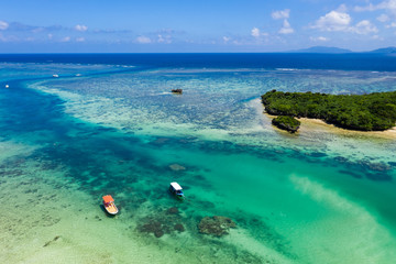 Aerial view of Ishigaki seascape