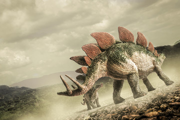 dinosaur , Stegosaurus