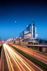 Obraz Katowice nocą, Śląsk - fototapety do salonu