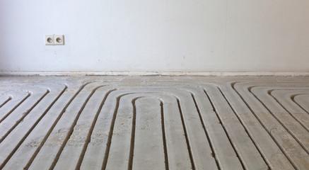 Milling in concrete floor