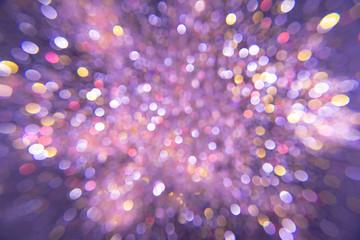 Sparkling Glitter bokeh Background