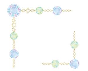 宝石のイラスト