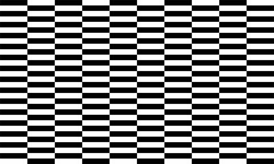 Streifenmuster schwarz und weiß nahtlos