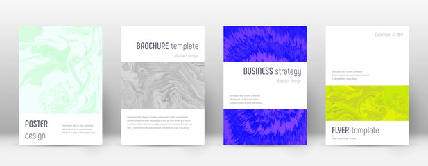 Abstract cover. Dramatic design template. Suminaga