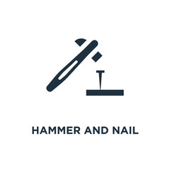 hammer and nail icon