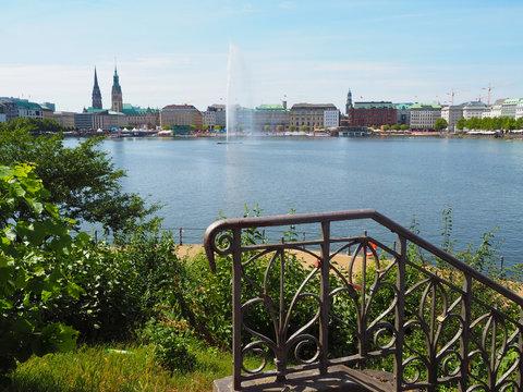 Hamburg - die malerische Binnenalster