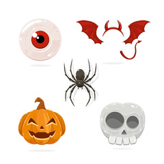 Cartoon Halloween Icons