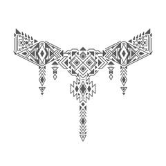 Vector Geometric Tribal Ethnic Decoration.