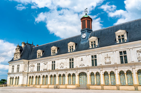 Chateau-Neuf, a palace in Laval, France