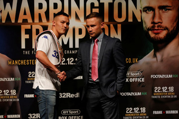 Josh Warrington & Carl Frampton Press Conference