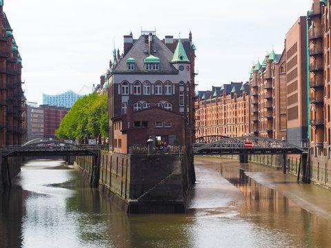 Hamburg - Speicherstadt