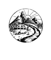 Roadtrip Icon I