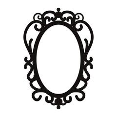 お姫様の鏡