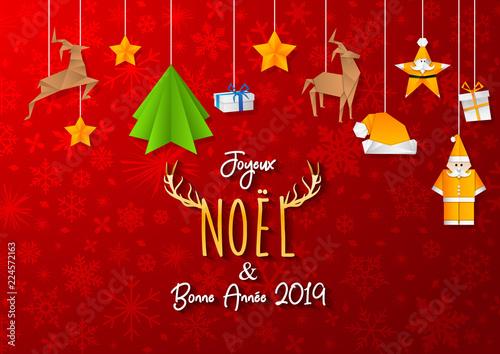 Photos De Joyeux Noel 2019.Joyeux Noel Bonne Annee 2019 Stock Image And Royalty Free