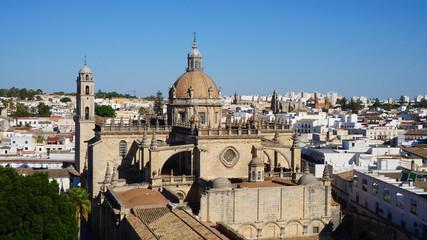 Kathedrale von Jerez de la Frontera, Andalusien, Spanien