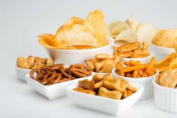 variety of snacks Fototapete