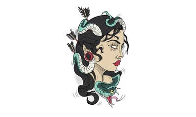 Medusa Side Profile