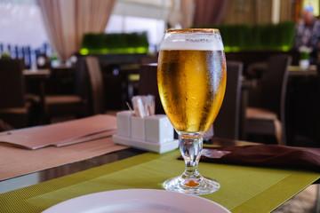 Beer cafe alcohol bar, restaurant cafe interior