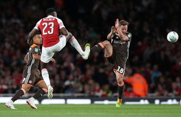 Carabao Cup - Third Round - Arsenal v Brentford