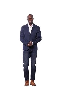 Full body black man