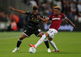 Carabao Cup - Third Round - West Ham United v Macclesfield Town