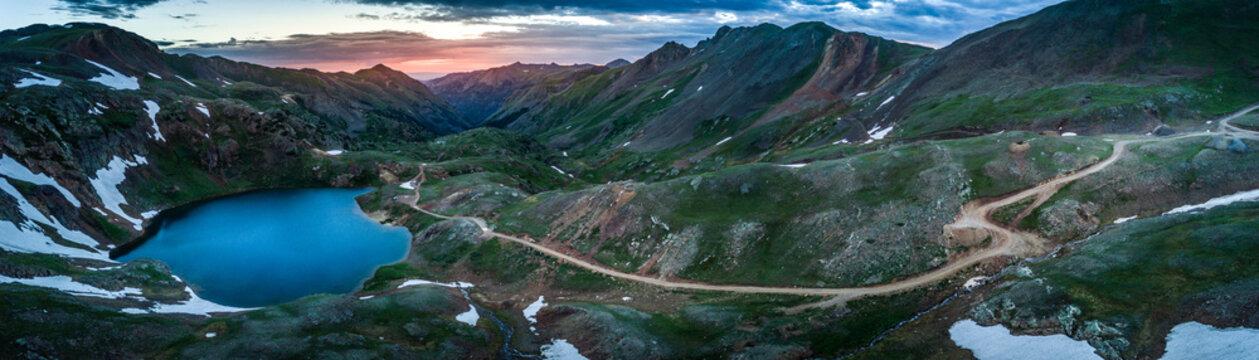 Lake Como- Poughkeepsie Pass, San Juan Mountains off Engineer Pass, Colorado, USA