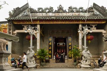 Hoi Quan Quang Trieu Temple ( Cantonese Assembly Hall ), Hoi An, Vietnam