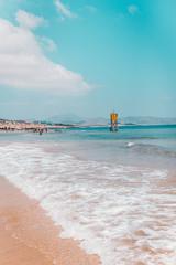 Fuerteventura Beach with Lifesaver House