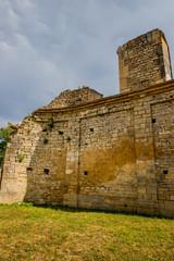 Ruines de l' Abbaye de Saint-Vivant
