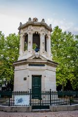 Monument dans le Parc Darcy à Dijon