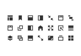 Application & Interface Icon Set