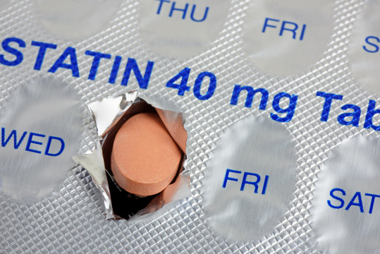Daily Statin Tablet Dose