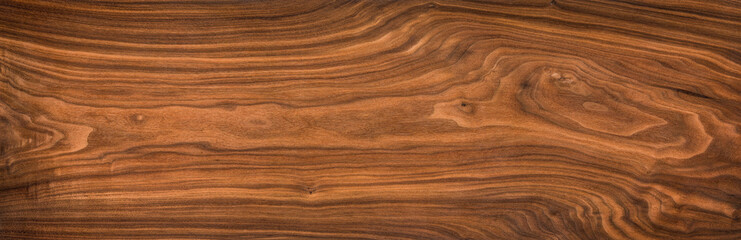 Super long walnut planks texture background.Walnut wood texture.Texture element	 Wall mural