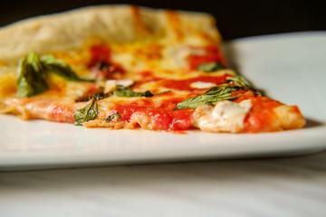 Margherita Pizza Slice
