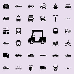 golf machine icon. transport icons universal set for web and mobile
