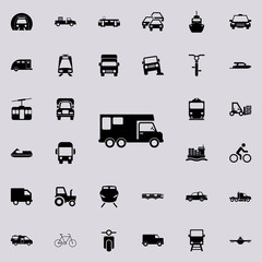 car house on wheels icon. transport icons universal set for web and mobile