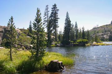 Donner Lake, CA and Lake Angela trail