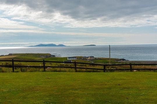 Farm by the Irish Sea