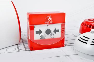 Pożar - alarm - system pożarowy